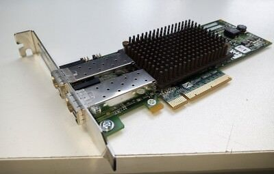 HP LPE12002 Dual Port 8GB PCIe HBA Fiber Channel w/No SFP's