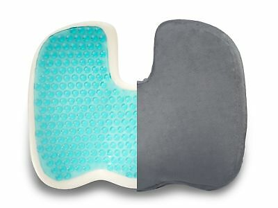 Truck Driver Seat Gel Cushion Memory Foam Pain Relief Office Home Car Pillow