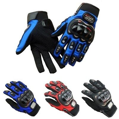 Tactical Cycling Motorcycle Combat Hard Knuckle Full Finger Gloves Anti-slip