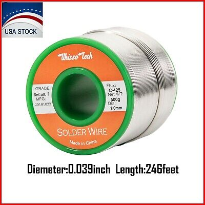 Lead Free Solder Wire Sn99.3 Cu0.7 with Rosin Core for Electronic Soldering 500g