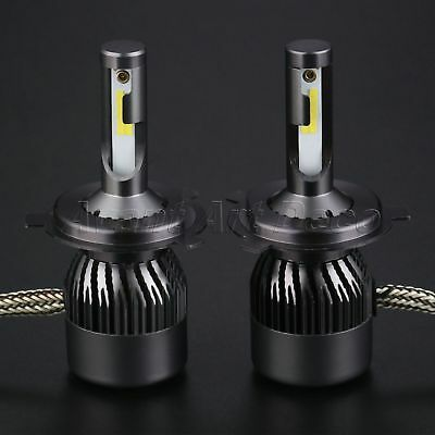 2PC H4 LED Headlight 160W 16000LM Conversion Kit High Low Beam Bulb 6000K DECO