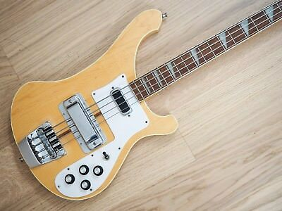 1979 Rickenbacker 4001 Vintage Electric Bass Guitar Mapleglo 4003 w/ohc
