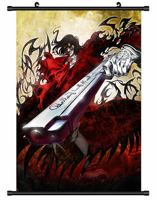 "Hot Japan Anime Alucard Hellsing Home Decor Poster Wall Scroll 8""x12"" PP318"