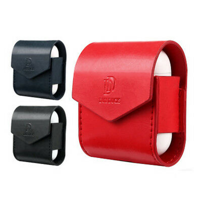 Magnetic PU Leather Protective Cover Case For Apple AirPods Charger Charging