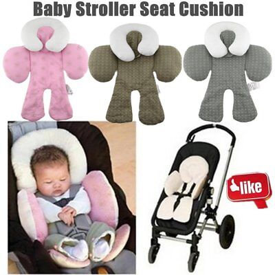 Safety Baby Kid Stroller Pram Pushchair Two Sided Car Seat Cushion Pad Liner rr