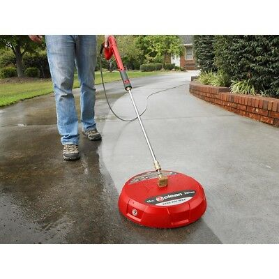 15 in Gas Surface Cleaner Pressure Washer Power Washing Driveway Patio Pool Deck
