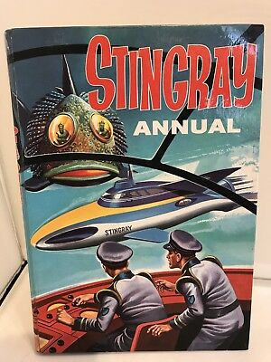 Vintage Stingray Annual 1965 Gerry Anderson