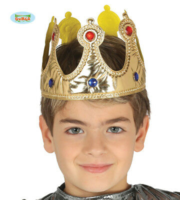 Childrens King Fabric Crown