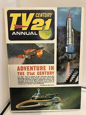 Vintage TV21 Annual 1960's Gerry Anderson