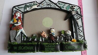 The Nightmare Before Christmas Ceramic Photo Picture Frame Santa