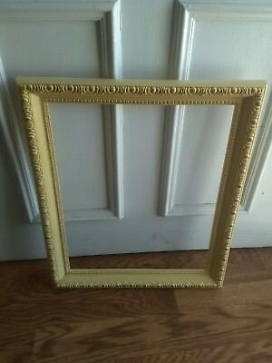 large ornate picture frame wall decor wedding..