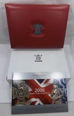 Royal Mint - 2006 United Kingdom Deluxe Proof Coin Set  (T1061)