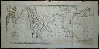 1814 Travels to the Source of the Missouri Lewis and Clarke 1st London with Map