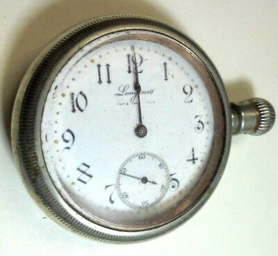 Vintage Pocket Watch 17 jewel Longines Complete Parts Or Repair Antique