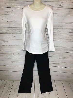 Size Large Maternity Clothes, 2 Pants (12 Long) and 1 Shirt, NWT
