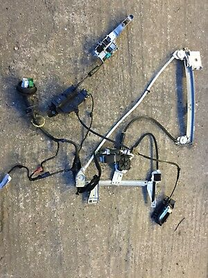 PEUGEOT 207 CC Passenger Nearside Window Regulator Motor Door Lock