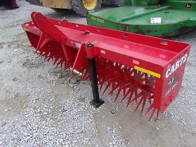 New 6 ft. Dirt Dog CAR72 Aerator  *We CAN SHIP FAST AND CHEAP*