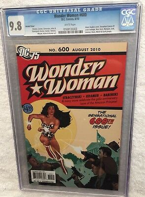 Wonder Woman #600 CGC Graded 9.8 2010 Variant Cover 0169133003 Comic