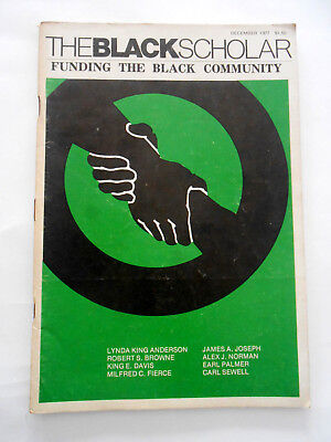 The Black Scholar Journal Of Black Studies and Research 1977 December