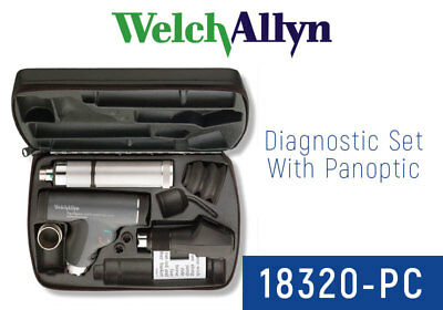 Welch Allyn 18320-PC Halogen Ophthalmic Set including Ophthalmoscope Retino NEW