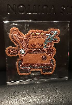 Disney Store EMOJI PATCH Summer Play Days Tow Mater Cars 3 NEW
