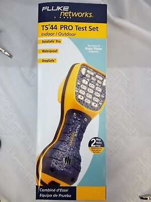 Fluke Networks Ts44 Pro  Butt Set, Brand New In Box!!