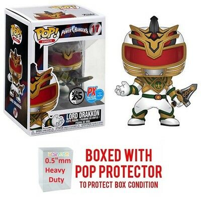 "Funko Pop! Lord Drakkon #17 Power Rangers MMPR PX Previews Exclusive ""MINT"""