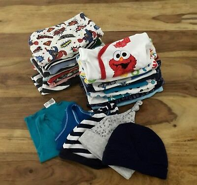 Baby Boy Bulk Clothes Size newborn 0000 & 000. Patch cotton on bonds