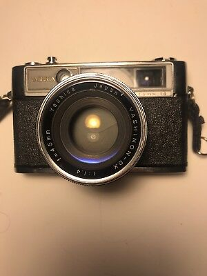 Yashica Lynx 14 Rangefinder - not working but great lens.