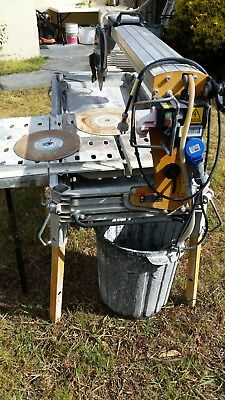Tile wet saw, used, Battipav, 1000mm