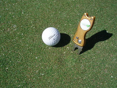 retractable golf divot / pitch tool made from Alloy