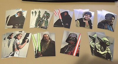 Star Wars - Galaxy Series 5 - Chase Silver Foil - BULK LOT of 19 - 2010 - NM