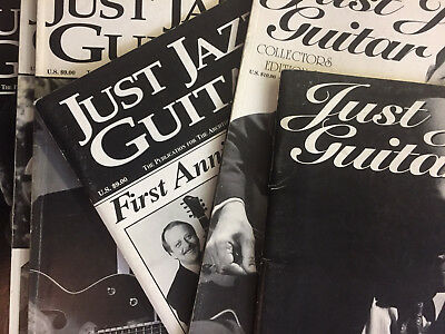 Just Jazz Guitar (New Old Stock) Individual Issues Between Feb 2006 - May 2008