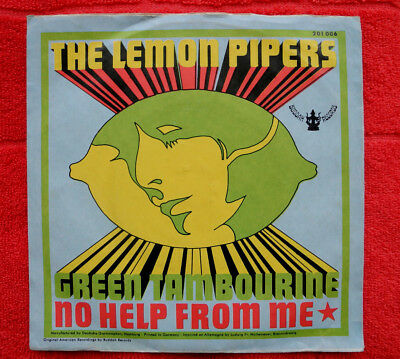 The Lemon Pipers - Green Tambourine / No help from me // Buddah Records (1967)