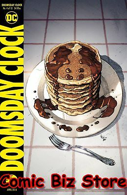 Doomsday Clock #4 (Of 12) (2018) 1St Printing Bagged & Boarded Dc Comics