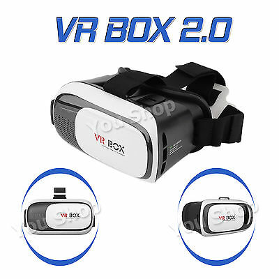 Google Virtual Reality Glasses VR BOX 2.0 Headset for Samsung Galaxy s6 s7 Edge