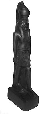 "Egyptian King Horus Pharaoh Figurine Statue Ancient Goddess 5"" Sculpture 201"