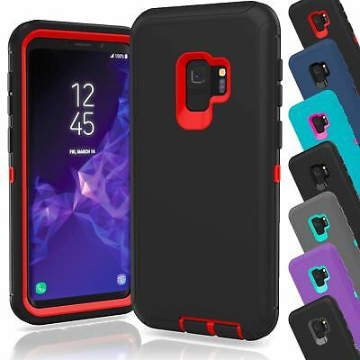 finest selection 7ddeb 744ab For Samsung Galaxy S9 / S9 Plus Defender Case Armor Fits Otterbox Defender  Clip