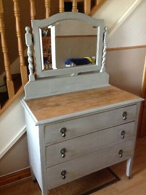 Edwardian Drawers with Mirror