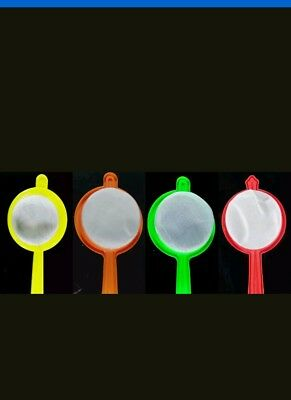Fine Tea/ clear stock/coffee/juice strainer Chef nylon plastic small kitchen 9cm