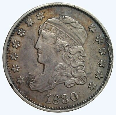 1830 1/2 Dime - Capped Bust Half Dime