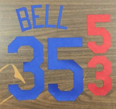 ba974fdb32bb5 Los Angeles Dodgers Lettering Kit for home jersey any name  number KERSHAW  PUIG