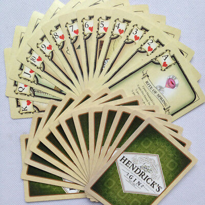 Hendricks Gin Playing Cards Poker Gift Game  **NEW** Cocktail Recipes