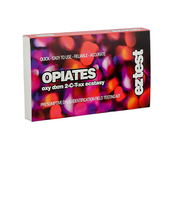 EZ Test Blister for Opiates, DXM and Ecstasy (10 tests)