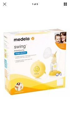 New Medela Swing Electric Single Breastpump NIB sealed USA Authentic breast pump