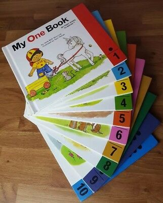 My First Steps To Maths Complete Set 1-10 Reading Books by Jane Belk Moncure