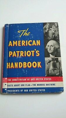 THE AMERICAN PATRIOT'S HANDBOOK Rand McNally~Constitution~Flag~Presidents