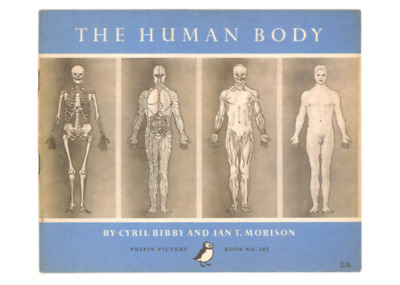 Modern Postcard: Skeleton, Organs, Muscles - Human Anatomy -Book Cover
