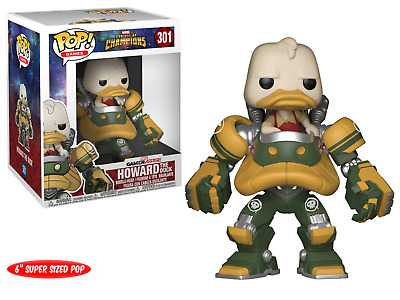 "Funko Pop! Games 301 Marvel Contest of Champion Howard the Duck 6"" Supersize Pop"