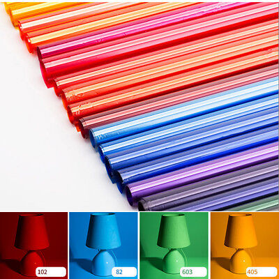 "Colors Lighting Filter Gel Sheets 31.5x39"" 80x100cm For Photo Camera Studio Lamp"